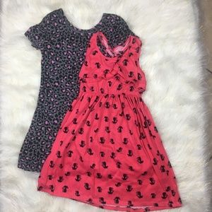 Other - Girl Cute Dresses Size 7/8 Leopard and Cat